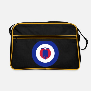 Northern Soul mods scooter target 2 - Retro Bag