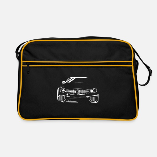 Motor Bags & Backpacks - sports car - Retro Bag black/gold