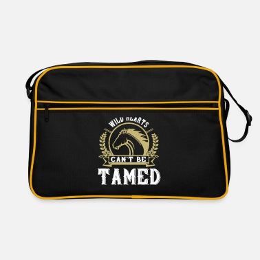 Foal Horse - Wild hearts can t be tamed - Retro Bag