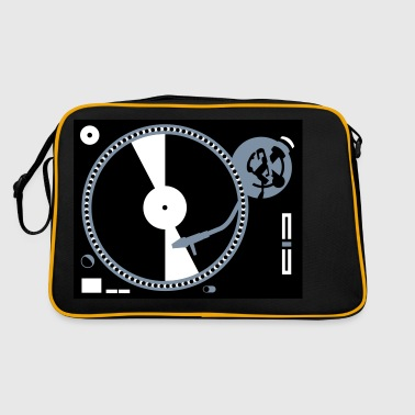 turntables - Retro Tasche
