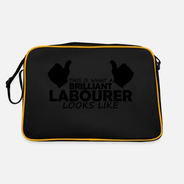 Labour brilliant labourer - Retro Bag