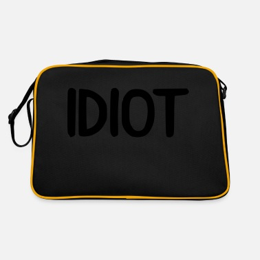 Idiot idiot - Retrotasche