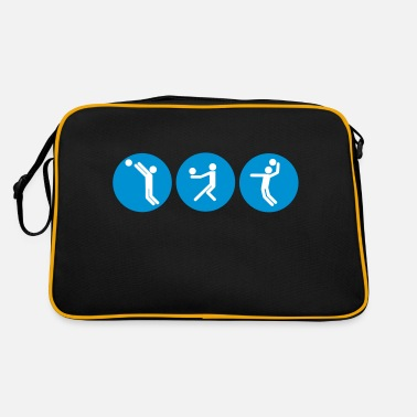 Beachvolleyball Kreise - Retrotasche