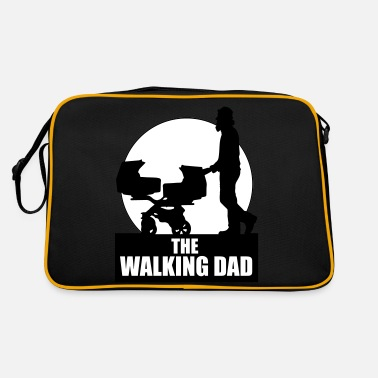 The Walking Dad Zwillinge THE WALKING DAD - TWO - TWINNS - Retrotasche