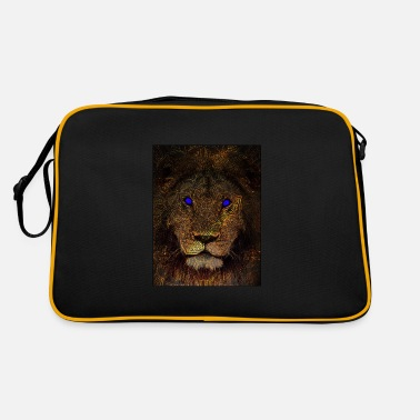 Mythical mythical lion - Retro Bag
