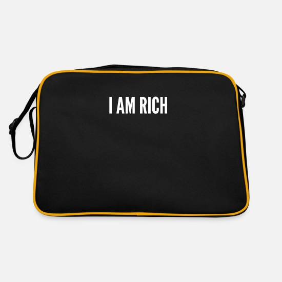 Wealth Bags & Backpacks - Rich - Retro Bag black/gold
