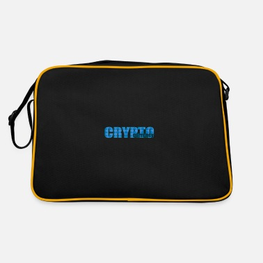 Currency CRYPTO currency - Retro Bag