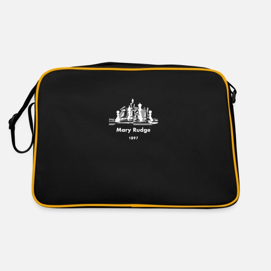 Chess Bags & Backpacks - MaryRudge Chess 1897 - Retro Bag black/gold