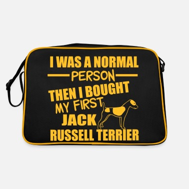 Jack Normal Person -Jack RussellTerrier - Retro Bag