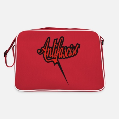 Antifaschist Antifaschismus Antifascist Antiracist - Retro Bag