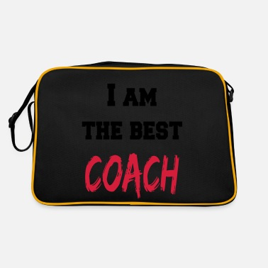 Entrainer Coach I am the best coach - Retrotasche