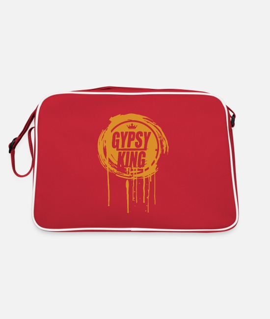 Drip And Dripping Bags & Backpacks - Tyson Fury Gypsy King - Retro Bag red/white