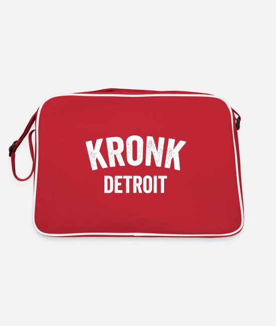 Legend Bags & Backpacks - Kronk Gym Shirt Detroid Boxing Gym - Retro Bag red/white