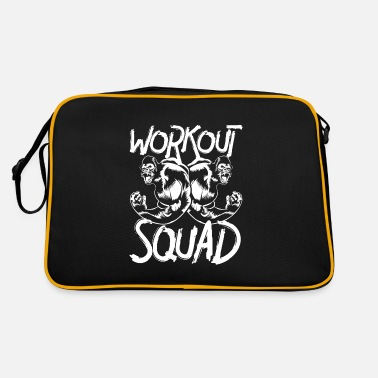 Squad gorilla workout squad - Retrotasche