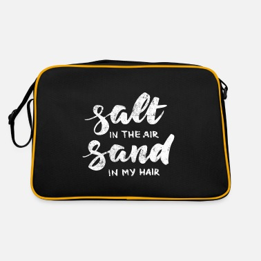 Salt sand beach summer - Retro Bag