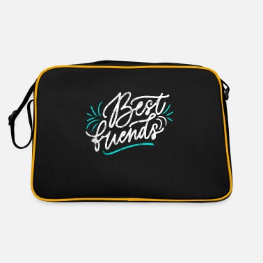 Friends Best friends - Retro Bag
