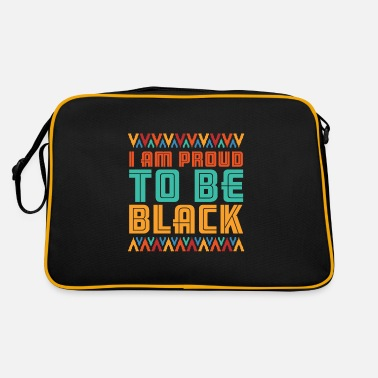 Proud Black African History Month gift - Retro Bag