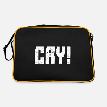 Cry Cry! - Retro Bag