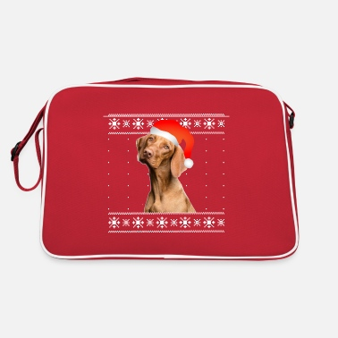 Christmas dog - Retrotasche