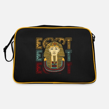 Ägypten Ägypten Patriot Pop Art Pharao Pyramide Nil - Retrotasche