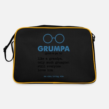 Grandpa Grandpa - Grandpa - Retro Bag
