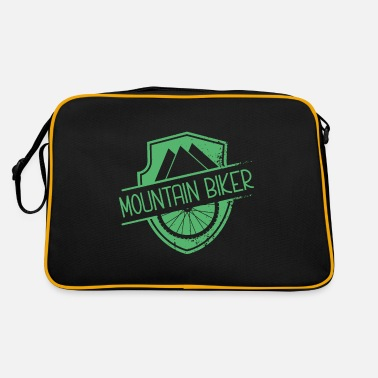 Mountain Biker Mountain bikers - Retro Bag