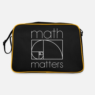 Mathematics MATH MATTERS MATHEMATICS MATHEMATICS MATHEMATICS - Retro Bag
