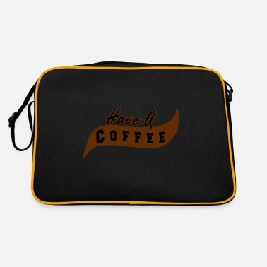 Have Have a coffee - Have a coffee - Retro Bag