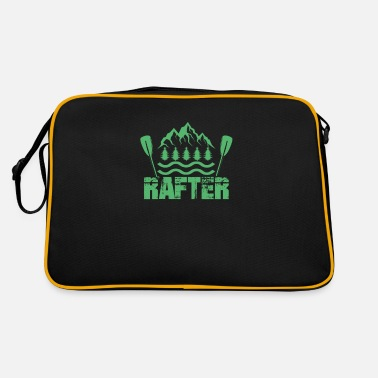 Rafting Whitewater rafting raft raft river raft rafting - Retro Bag