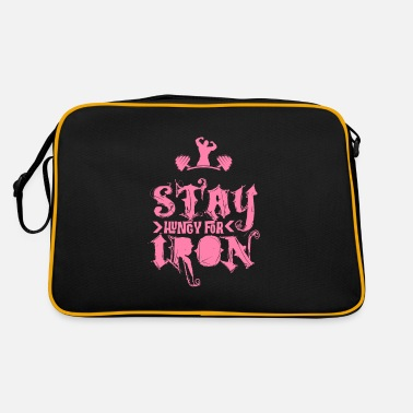 Body Builder body builder - Retro Bag