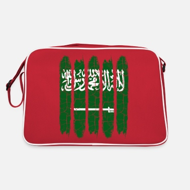Saudi-arabische Nationalflagge Saudi-Arabien - Retrotasche