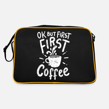 Coffee Coffee coffee coffee - Retro Bag