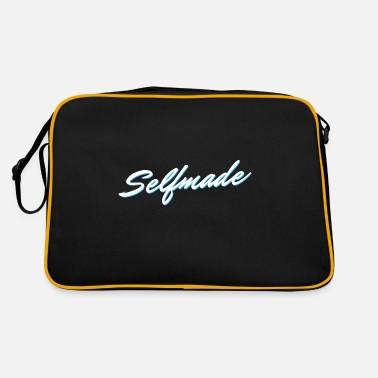 Selfie Self Made Self Made - Borsa retrò