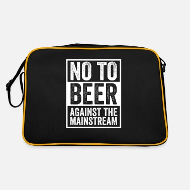 Antibier Anti Beer beer opponents no beer gift - Retro Bag