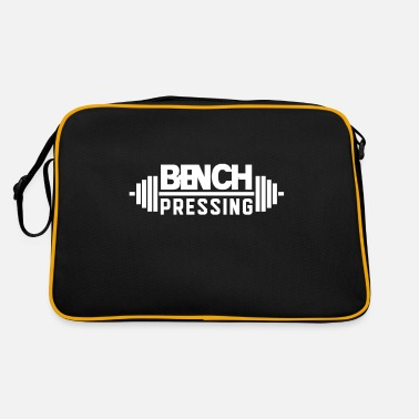Bench Press Bench press bench press bench press bench press - Retro Bag