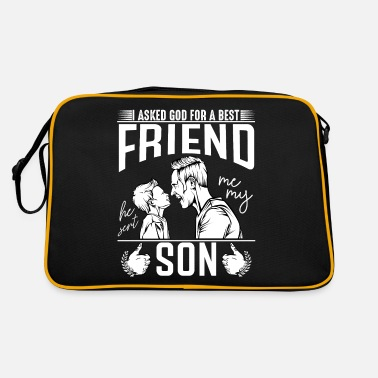 Father father and son - Retro Bag