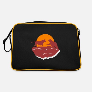 Crypto Currency Bulle Bear Stock Trader Trader - Retro Bag