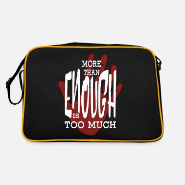 Protest Protest. enough is enough. Protest - Retro Bag