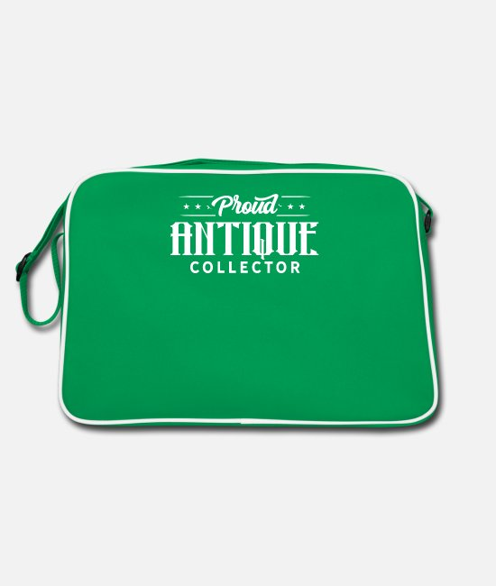 Trade Bags & Backpacks - Antiques Collect Collection Antique Collector - Retro Bag kelly green/white