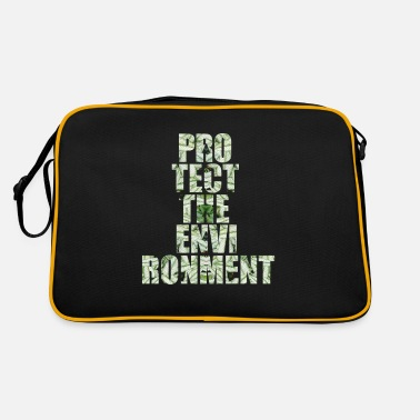 Protection Of The Environment Protect environment environmental protection - Retro Bag