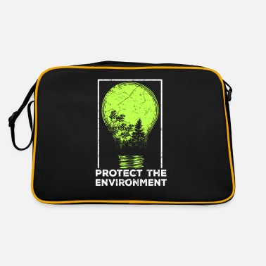 Protection Of The Environment Protect the Environment I Environmental Protection - Retro Bag