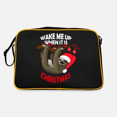 Wake me up when it's Christmas - Retro Bag