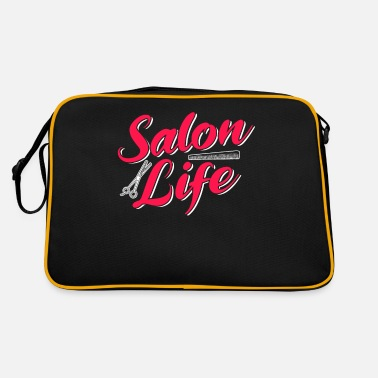 Salon Hairdresser salon hairdressing salon - Retro Bag