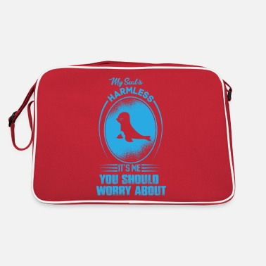 Seal-animal Seal harmless animal - Retro Bag