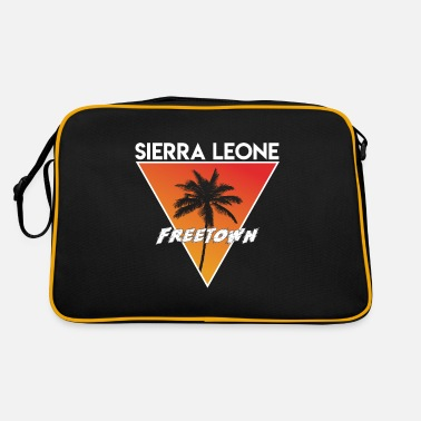Area sierra leone with capital - Retro Bag