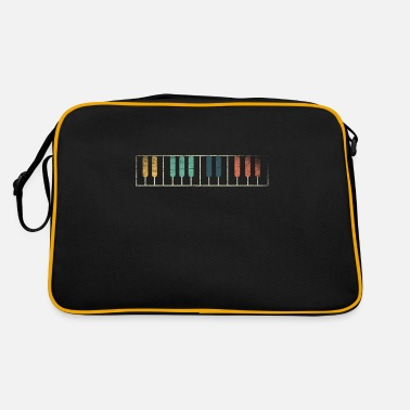 Piano Piano piano player musician - Retro Bag