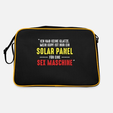And Solar Panels I have no bald solar panel bald gift - Retro Bag