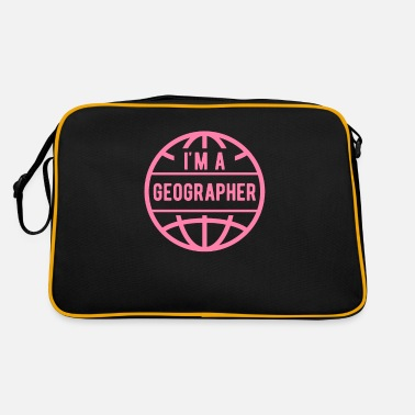 Geographic geographer - Retro Bag
