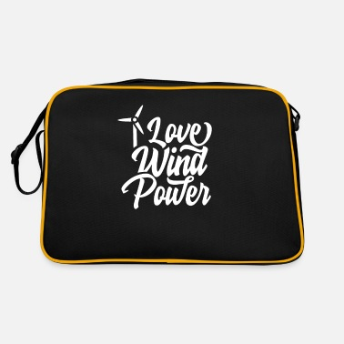 For Wind Energy Wind energy - Retro Bag