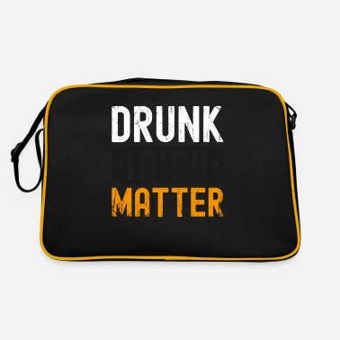 Future Drunk Irish Matter St Patrick's Day - Retro Bag